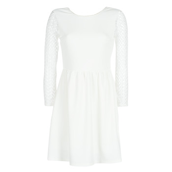 material Women Short Dresses Betty London J. LOUISE White