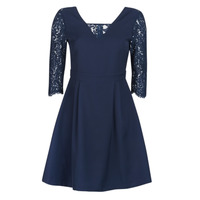 material Women Short Dresses Betty London JULIA Marine