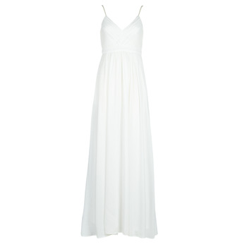 material Women Long Dresses Betty London VICTOIRE White