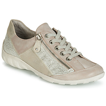 Shoes Women Low top trainers Remonte Dorndorf WURUS Beige