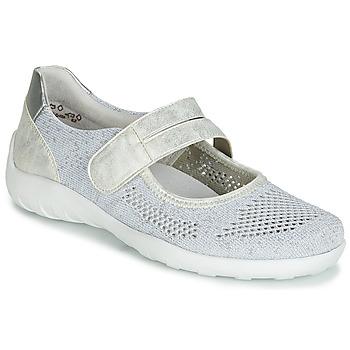 Shoes Women Ballerinas Remonte Dorndorf HUIJI Silver