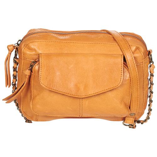 Bags Women Shoulder bags Pieces PCNAINA Cognac