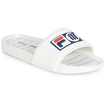Shoes Women Sliders Melissa SLIDE + FILA White