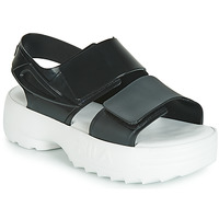 Shoes Women Sandals Melissa SANDAL + FILA Black / White