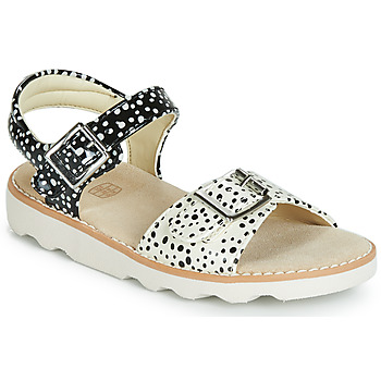 Shoes Girl Sandals Clarks Crown Bloom T Black