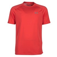 material Men short-sleeved t-shirts Under Armour TECH 2.0 SS TEE Red
