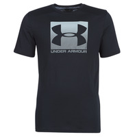 material Men short-sleeved t-shirts Under Armour BOXED SPORTSTYLE Black