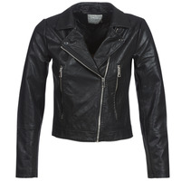 material Women Leather jackets / Imitation le JDY JDYILDE Black