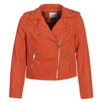 material Women Leather jackets / Imitation le JDY JDYINU Red