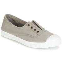 Shoes Low top trainers Victoria INGLESA ELASTICO TINTADA Grey