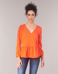 material Women Blouses Vila VIROSSIE Orange