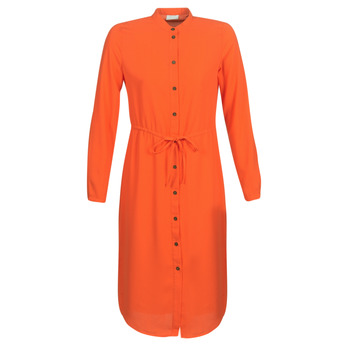 material Women Short Dresses Vila VIMIRUNA Orange