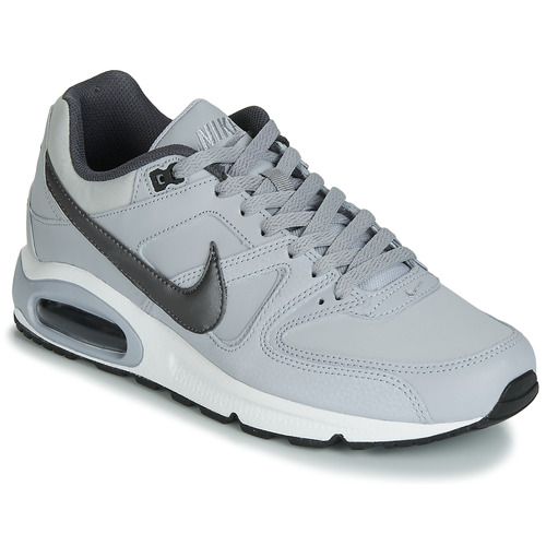 gatear Imaginativo vestir  Nike AIR MAX COMMAND LEATHER Grey - Free delivery | Spartoo NET ! - Shoes  Low top trainers Men USD/$159.50
