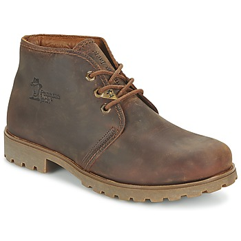 Shoes Men Mid boots Panama Jack BOTA PANAMA Brown