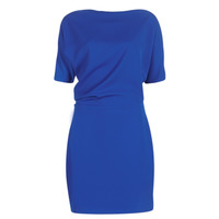material Women Short Dresses Marciano PARKER Blue