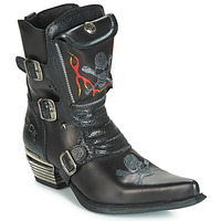 Shoes Men Boots New Rock M-WST024-S3 Black