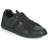 Shoes Men Low top trainers Levi's TULARE Black