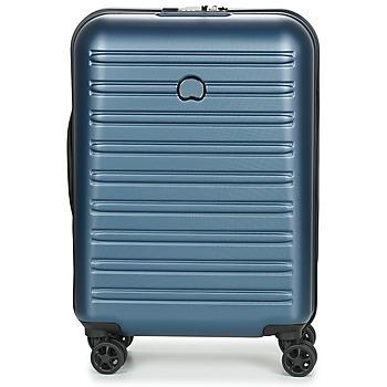 Bags Hard Suitcases Delsey SEGUR 2.0 CAB SL 4DR 55CM Blue