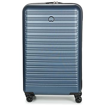 Bags Hard Suitcases Delsey SEGUR 4DR 78CM Blue