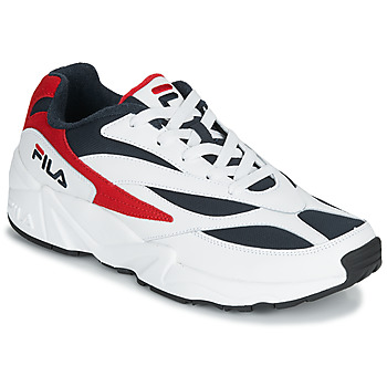 Shoes Men Low top trainers Fila V94M LOW White / Red