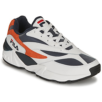 Shoes Men Low top trainers Fila V94M R LOW White / Orange