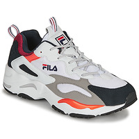 Shoes Men Low top trainers Fila RAY TRACER White / Blue