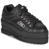 Shoes Women Low top trainers Fila TRAILBLAZER WEDGE WMN Black
