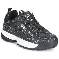 Shoes Women Low top trainers Fila DISRUPTOR LOGO LOW WMN Black