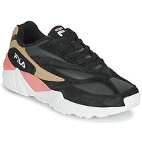 Shoes Women Low top trainers Fila V94M R LOW WMN Black / Pink