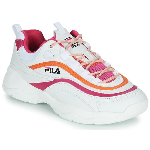 Fila RAY CB LOW WMN White / Pink