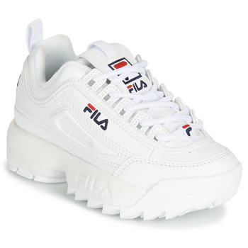 Shoes Children Low top trainers Fila DISRUPTOR KIDS White