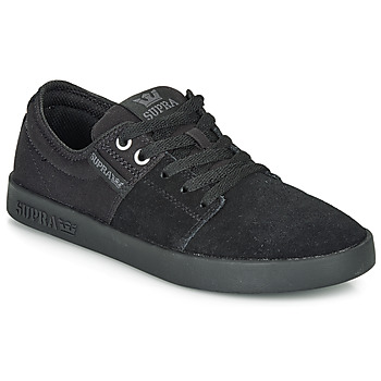 Shoes Low top trainers Supra STACKS II Black