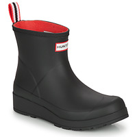 Shoes Women Wellington boots Hunter WOMENS ORIGINAL INSULATED PLAY SHORT Black