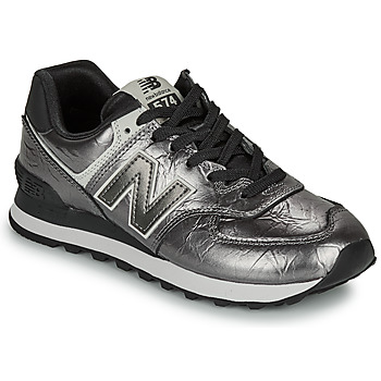 Shoes Women Low top trainers New Balance 574 Black / Silver