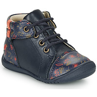 Shoes Girl Mid boots GBB OLSA Blue