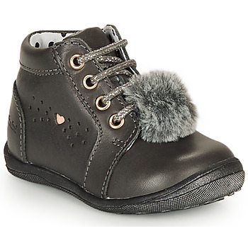 Shoes Girl Mid boots Catimini CALISTA Grey