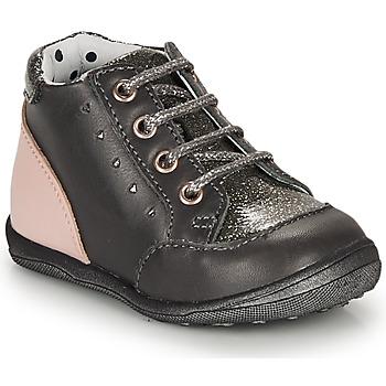 Shoes Girl High top trainers Catimini CLELIA Vtv / Grey / Dpf / Gluck