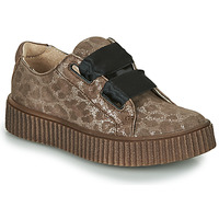 Shoes Girl Low top trainers Catimini CAVANILLE Vte / Leopard / Dpf