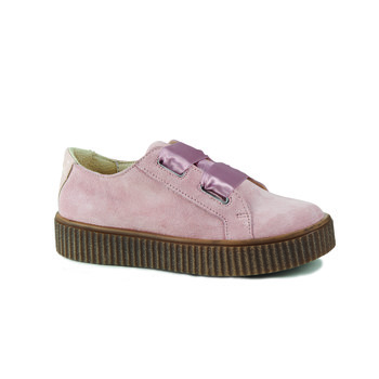 Shoes Girl Low top trainers Catimini CAVANILLE Pink / Dpf