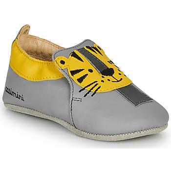 Shoes Boy Slippers Catimini CALINOU Vte / Grey / Dpf / Flexible