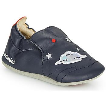 Shoes Boy Slippers Catimini CASPARO Vte / Marine / Dpf / Flexible
