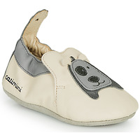 Shoes Boy Slippers Catimini CYMEON Beige / Grey