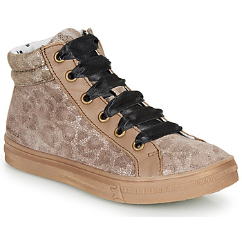 Shoes Girl High top trainers Catimini CALENDULE Leopard