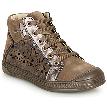 Shoes Girl High top trainers GBB ORENGETTE Taupe