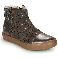 Shoes Girl Mid boots GBB OKITA Taupe