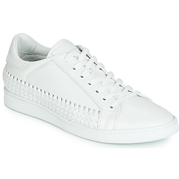 Shoes Men Low top trainers John Galliano 6712 White