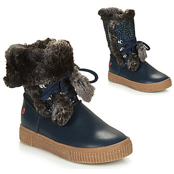 Shoes Girl Mid boots GBB NOUSTIK Blue