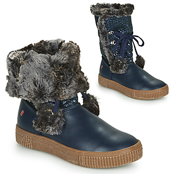 Shoes Girl Boots GBB NOUSTIK Blue