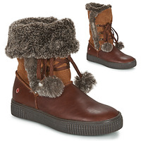 Shoes Girl Mid boots GBB NOUSTIK Brown