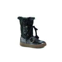Shoes Girl Mid boots GBB NOUSTIK Grey